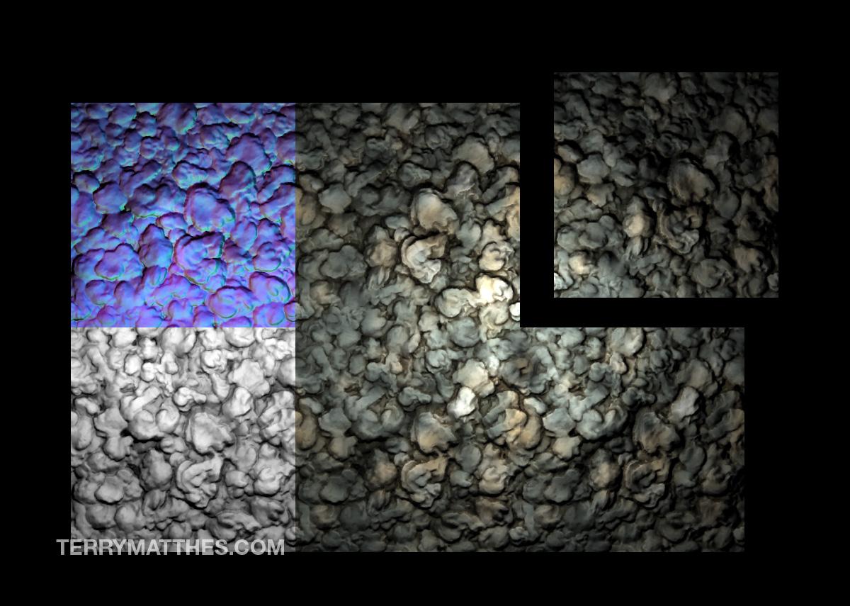 Zbrush to Maya: Tiling Meshes