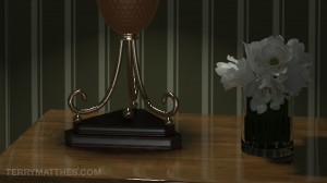 VRay Lamp Scene Final Close Up