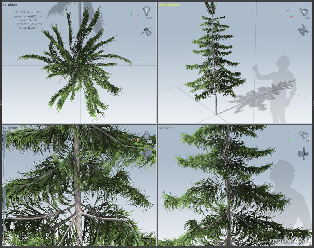 UE4 Speedtree Mesozoic Forest